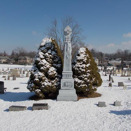 The Lewisburg Cemetery, Winter